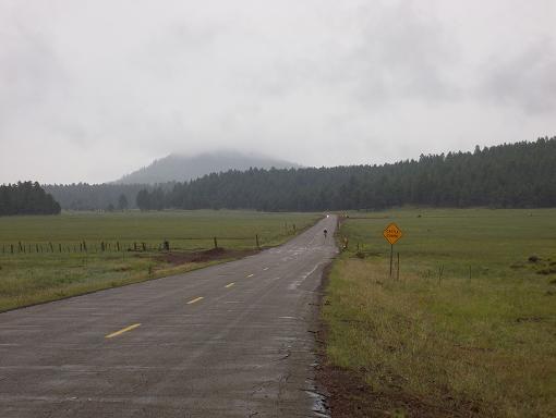 Approaching Bill Williams Mountain